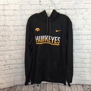 Nike Therma-Fit Black University of Iowa Hoodie